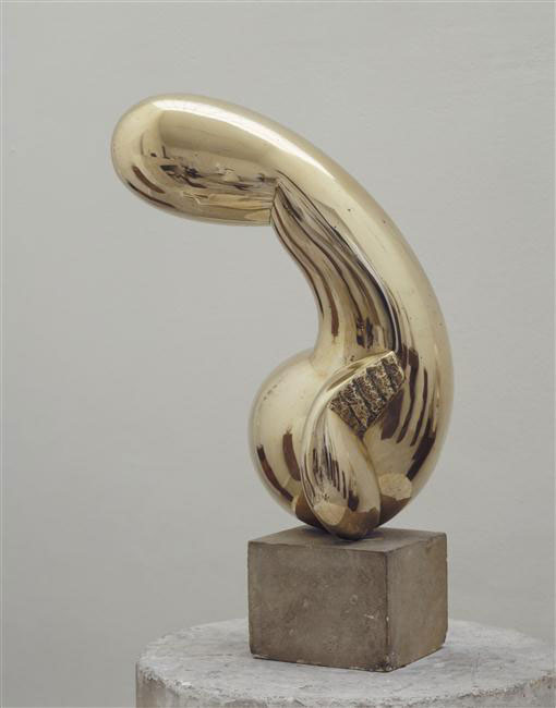 Princess X 1915-16 - Constantin Brancusi - as featured in Body of Art