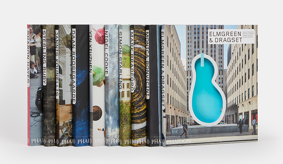 A selection of books from our Contemporary Artist Series