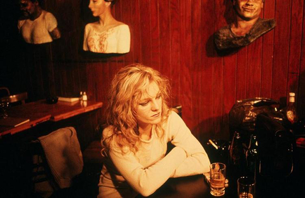 Cookie at Tin Pan Alley, NYC, 1983, by Nan Goldin