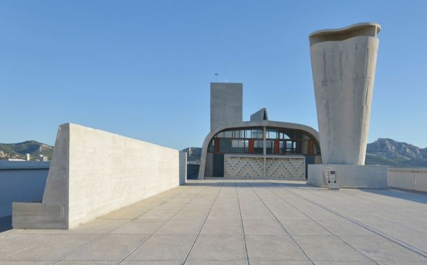 Le Corbusier roof reborn as a gallery