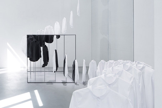 Nendo X Cos installation at this year's Salone del Mobile, Milan