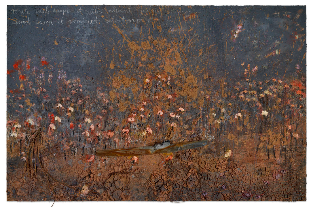 Anselm Kiefer, Aperiat Terra et Germinet Salvatorem, 2006; ©Anselm Kiefer. Courtesy of White Cube. Photo: Todd-White Art Photography
