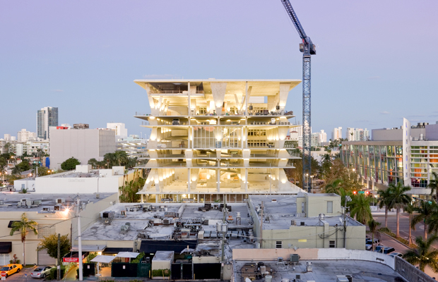 Architectural photographer Iwan Baan captures '1111 Lincoln Road' designed by Herzog & De Meuron in 2010