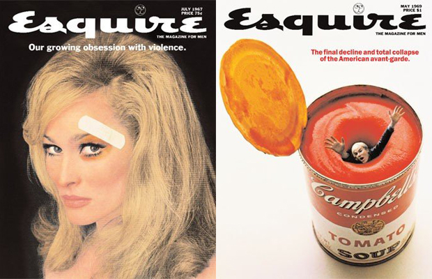 Esquire covers, George Lois, 1960s