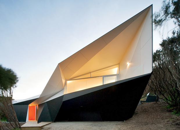 The Australian beach house with a twist (or two)