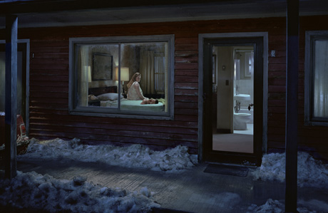 Untitled (Birth) by Gregory Crewdson from the Beneath the Roses (2005)