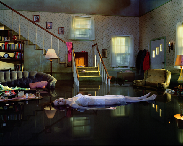 Untitled (Ophelia) by Gregory Crewdson from the Twilight series (2001)