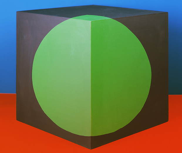 From Jessica Eaton's Cubes for Albers and LeWitt series (2010-2013)