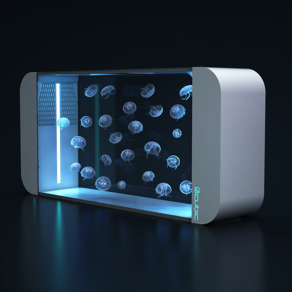 Cubic Pulse 160 Jellyfish Tank by Cubic Aquarium Systems