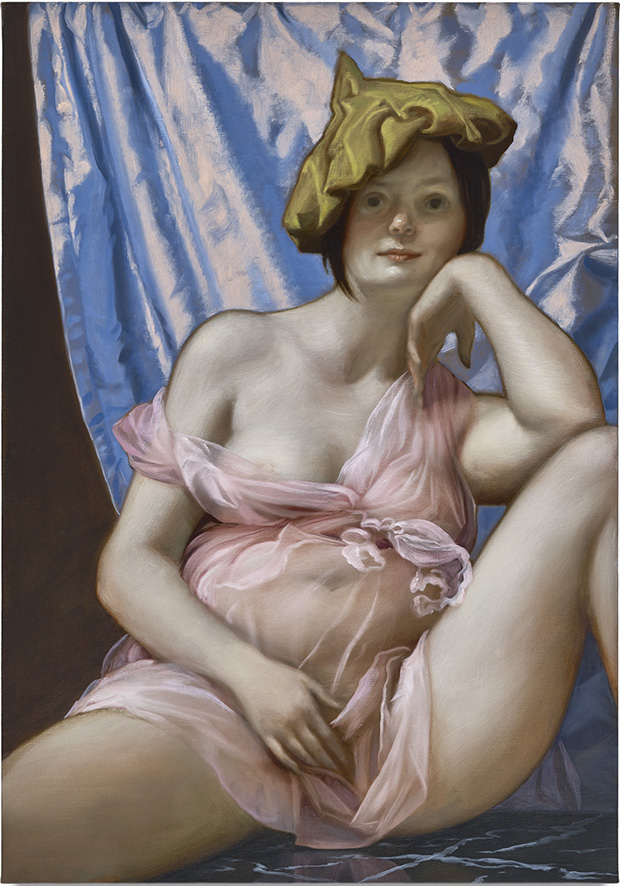 Altar, 2015; oil on canvas; 40 x 28 inches (101.6 x 71.1 cm); courtesy of the artist and Gagosian Gallery. (c) John Currin.