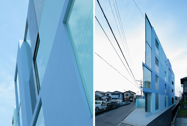 Eastern Design Office's 'On the Corner', Youkaichi City, Japan