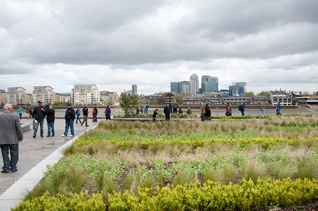 Cutty Sark Gardens by Martin Knuijt, from 30:30 Landscape Architecture