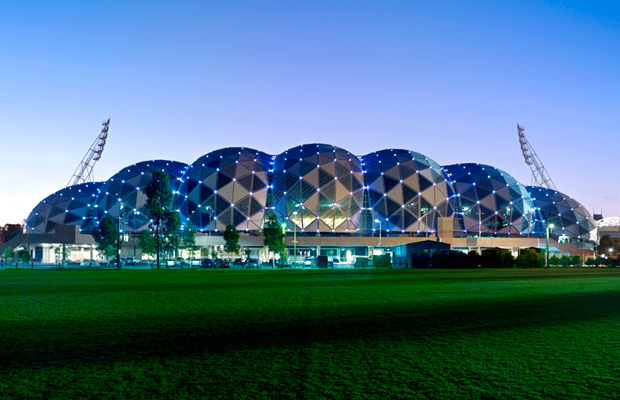 Cox Architecture, AAMI Stadium (2011), Melbourne, photographed by Dianna Snape