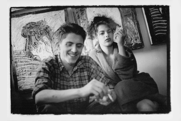 Tracey Emin and Billy Childish, photographed by Eugene Doyen for 'Alive and Well and Dying in Chatham' (1982 - 1986)