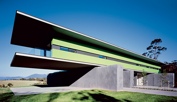 Medhurst House in Victoria, Australia completed by Denton Corker Marshall in 2007