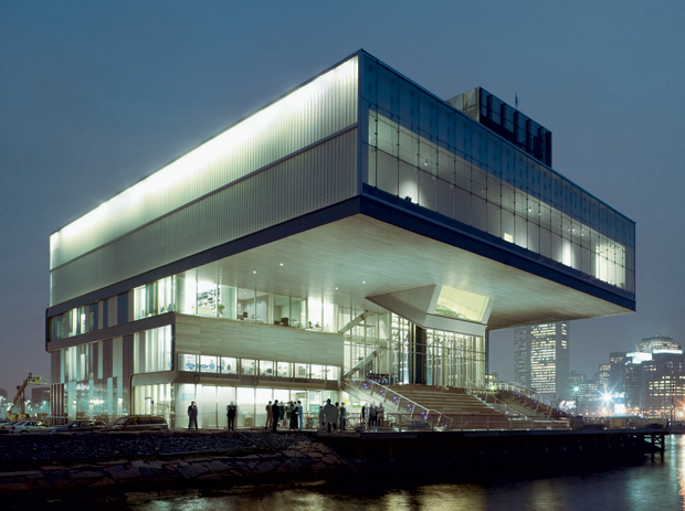 Institute of Contemporary Art completed by Diller Scofidio + Renfro in 2006