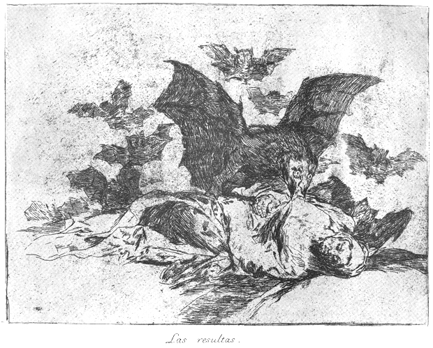 goya essay los caprichos Goya was an astute observer of the world around him, and his art responded   the first of his four major print series was los caprichos, which consists of 80.