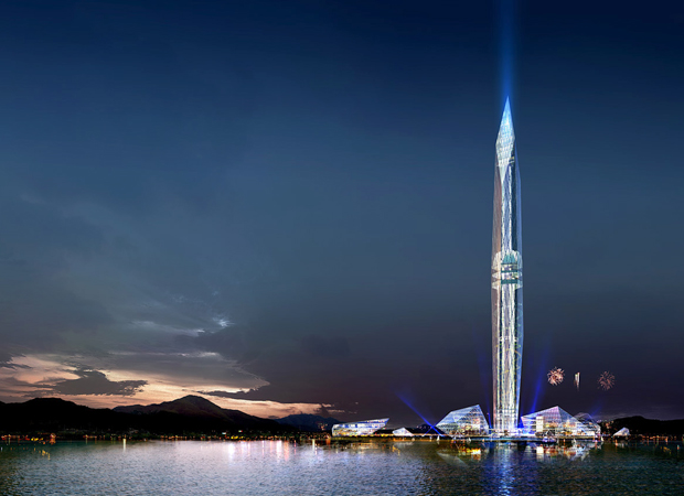GDS Architects' design for 'Cheongna City Tower' in Incheon, South Korea