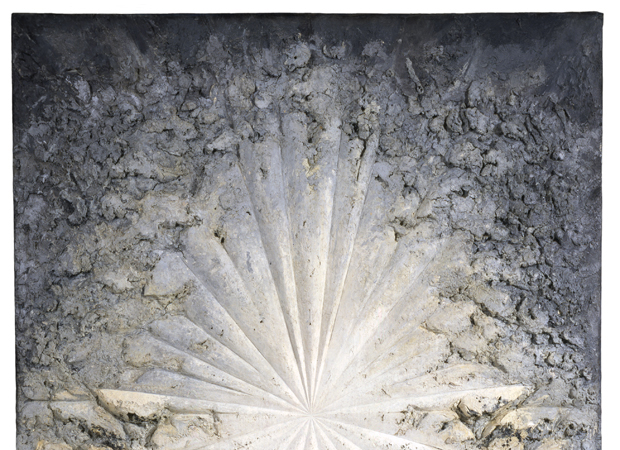 Jay DeFeo, The Rose (1965) , Image courtesy of ARS New York and Jay DeFeo foundation