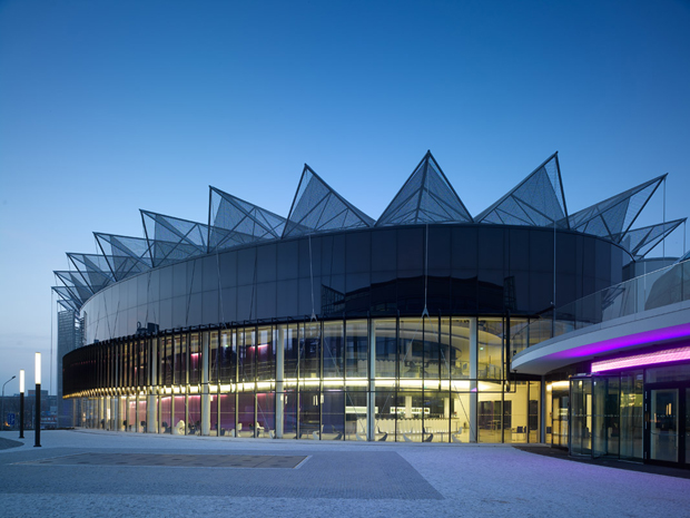 Cultural Centre City of Zlin, by Eva Jiřičná Architects