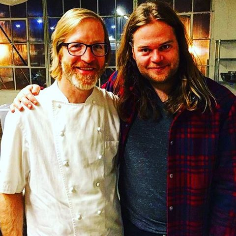 Daniel with Magnus Nilsson
