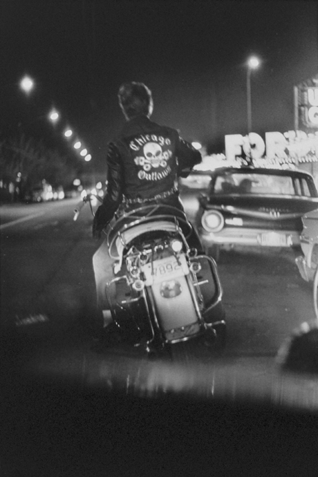 From Danny Lyon's Bikeriders (1967)