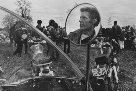 Cal, Elkhorn, Wisconsin, c. 1965-66 from The Bikeriders by Danny Lyon