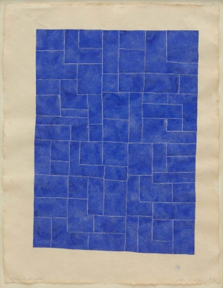 Untitled (Blue) (1995) by David Austen