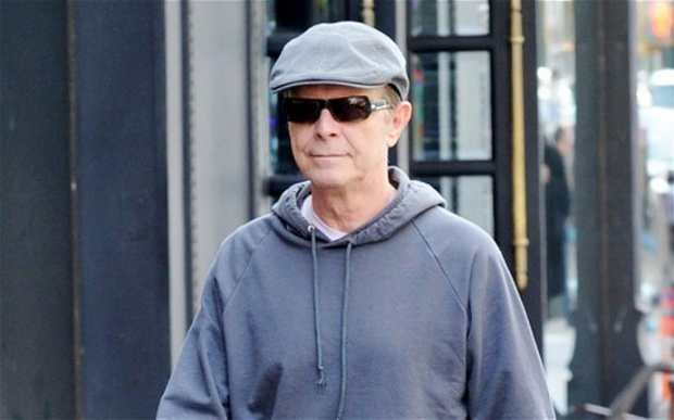 David Bowie pictured in New York last year