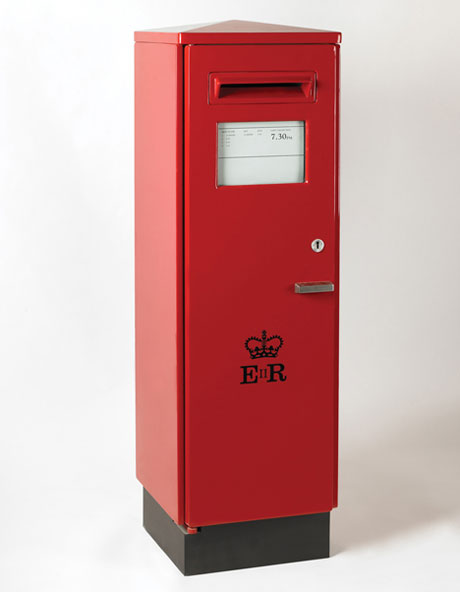 Square pillar box, 1966