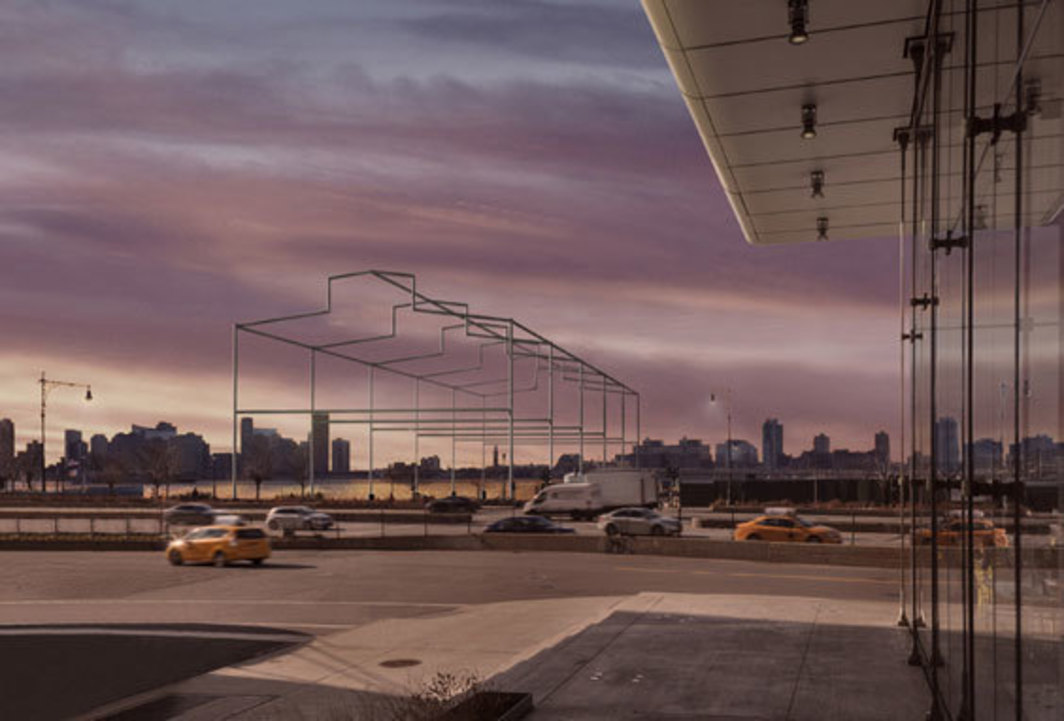 David Hammons' ghost pier gets the go ahead