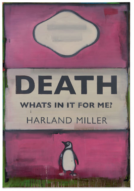 Death, What's In It For Me? (2007) by Harland Miller