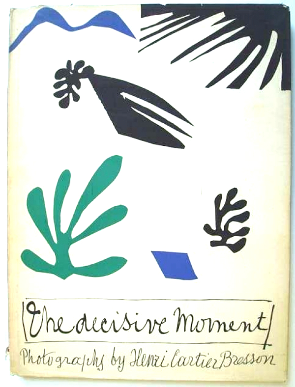 Henri Matisse's cover for Henri Cartier-Bresson's The Decisive Moment, as reproduced in Magnum Photobook: The Catalogue Raisonné