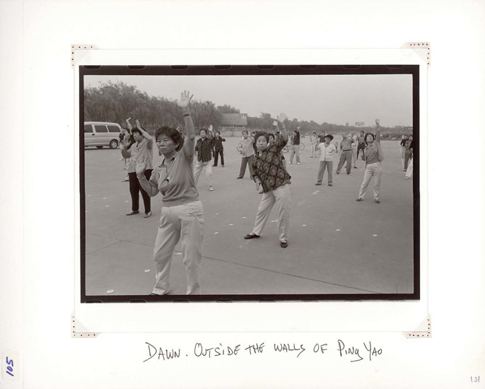Danny Lyon, Dawn, Outside the Walls of Ping Yao