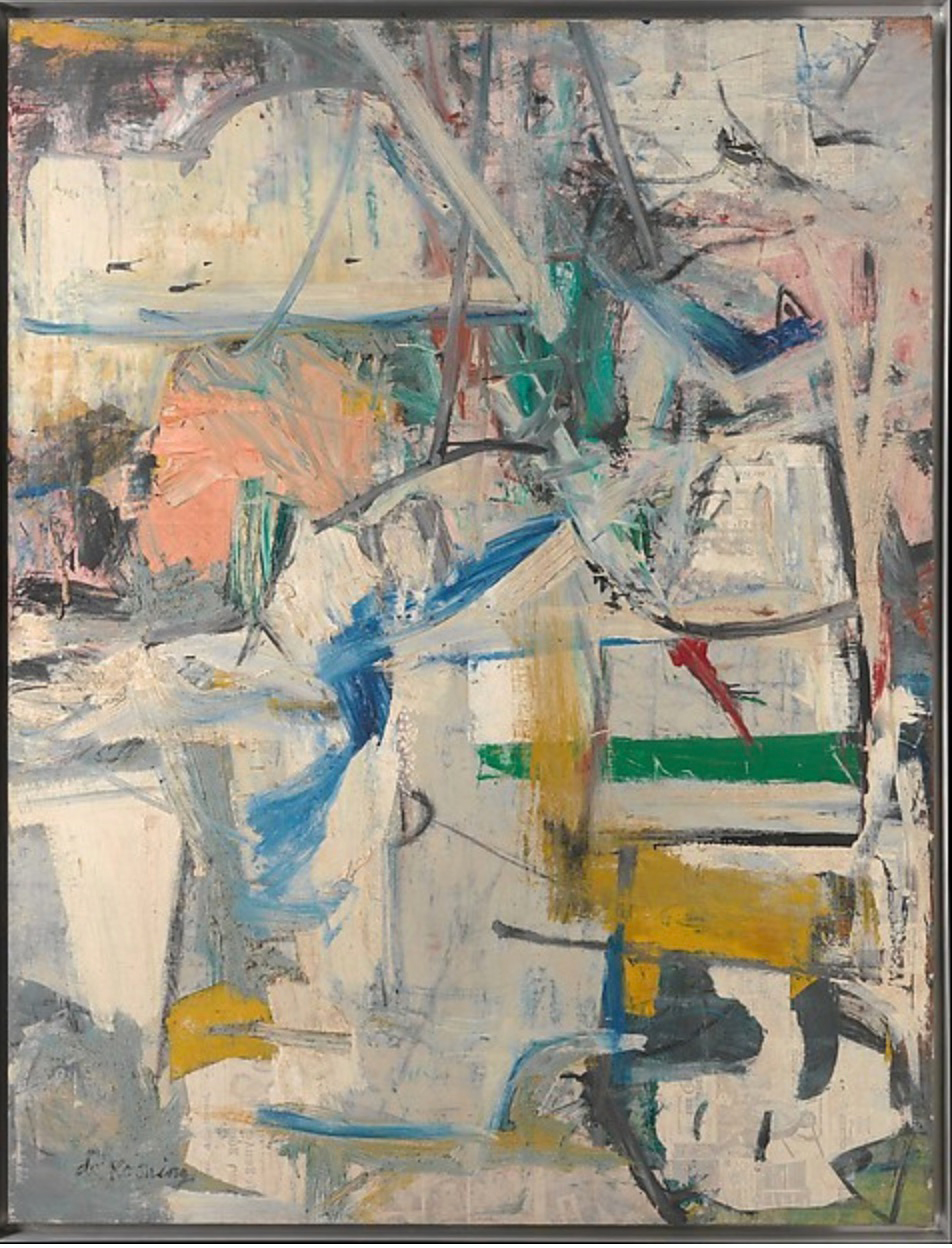 Easter Monday, 1955-56 - Willem de Kooning