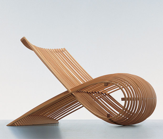Wood Chair 1988 - Marc Newson as featured in The Design Book