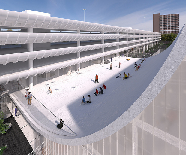 Design One for Preston Bus Station