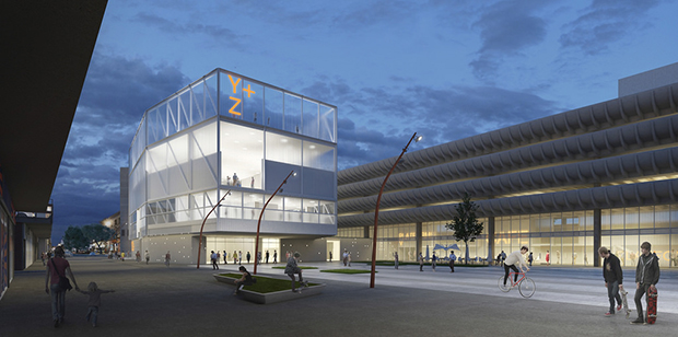 Design Two for Preston Bus Station
