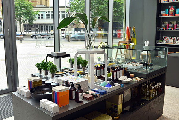 The Design Museum shop - image courtesy of the Design Museum