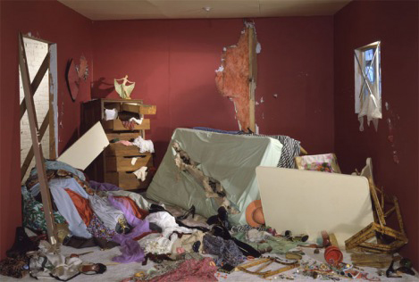 The Destroyed Room (1978) by Jeff Wall