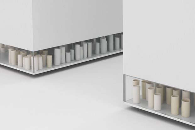 A Thousand Hours, installation view, 2012 by Edmund de Waal