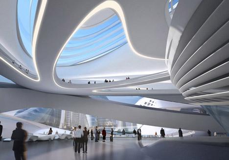 changsha meixi lake international culture arts centre zaha hadid architects - Zaha Hadid Architect Buildings