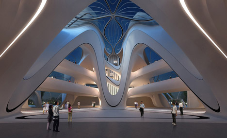 Changsha Meixi Lake International Culture & Arts Centre - Zaha Hadid Architects