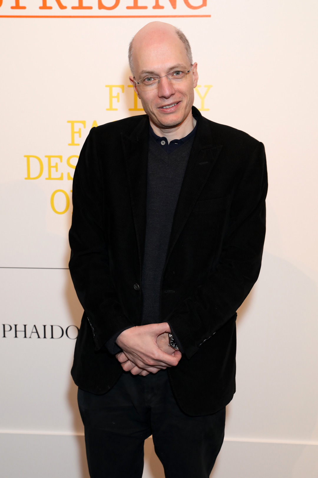 Alain de Botton at Sotheby's last night