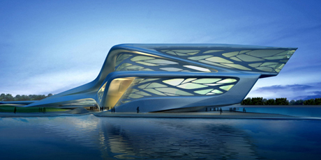 Abu Dhabi Performing Arts Centre by by Zaha Hadid Architects