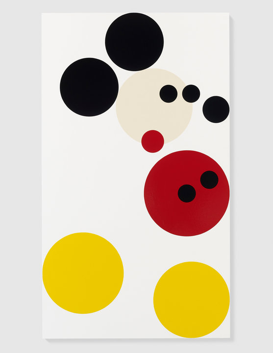 Mickey (2012) by Damien Hirst