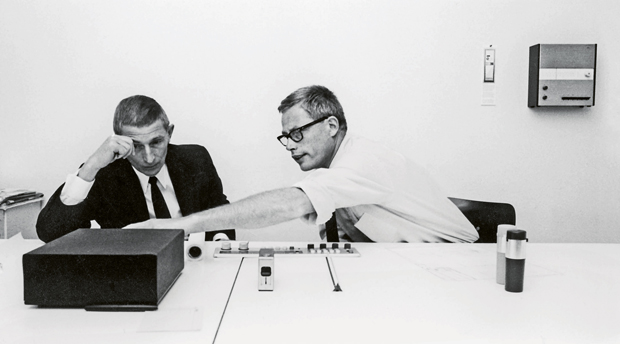 Fritz Eichler and Dieter Rams, circa 1968