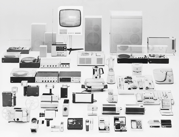 Dieter Rams's Braun product range, circa 1970, every design a stroke of genius - from the iPad version of As Little Design as Possible