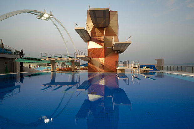 Diving Tower, Rijeka Olympic centre, Croatia - Studio Zoppini