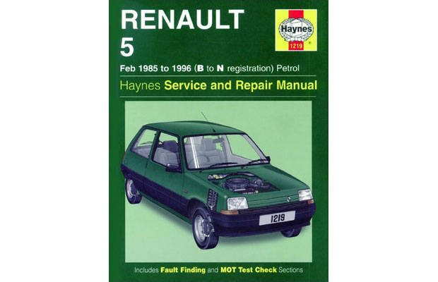 Haynes Manual, Renault 5